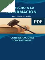 Derecho a La Informacion