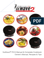 NuWave PIC2 Manual Complete Cookbook