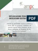 05a AMPC-DePSA Espec Tecn Electricidad VFinal 23 02 16 Bilwi