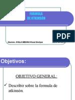 Formula de Atkinsón