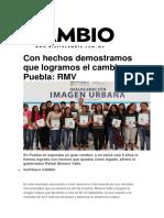 28.12.2016 RMV Con Hechos Demostramos Que Logramos El Cambio en Puebla