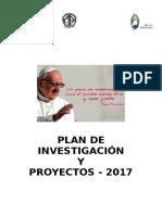 Plan de Investigacion 2016