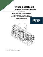 Planta de Osmosis Manual 1- Spanish