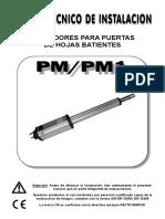 Manual Serie Pm
