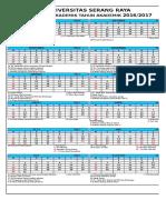 Kalender Akademik 2016-2017