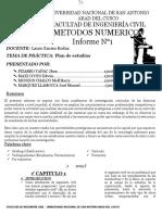 Informe Final de Metodos Numericos