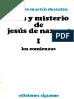170187626 Martin Descalzo Jose Luis Vida y Misterio de Jesus de Nazaret 01