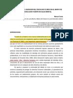 Costa (2016) Aproximaciones Al Quehacer Del Psicólogo Clínico en El Marco de La Legislación Vigente en Salud Mental. Ficha de Cátedra.
