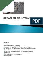 Strategii de Interventie