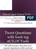 Free and Open Source Tools