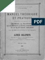 Manuel Théorique Et Pratique