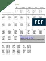 January 2017 Floor Schedule