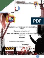 Proceso Construcctivo de La Escalera de Concreto