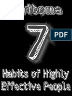 "Epitome- "" 7 Habits of Highly Effective People"" by Anshumaan Saxena"