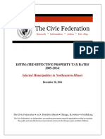 Report Civicfederationeffectivetaxratesreport 2005 2014 0