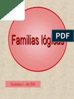 Clase 19 - Familias Logicas