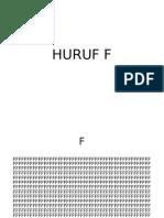 HURUF F