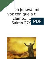 Clase Oracion Jeremías