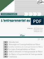 146964485 L Entrepreunariat Au Maroc Final