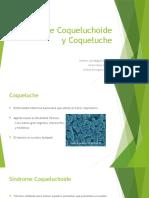 Síndrome Coqueluchoide y Coqueluche
