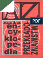 Urszula Dąmbska-Prokop - Mała Encyklopedia Przekładoznawstwa