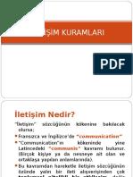 İLETİŞİM KURAMLARI-chp1.ppt