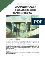 Predimensionamiento de Puente