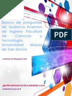 Banco Quimica FCYT UMSS