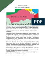Provincia de Penachí