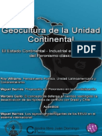 Geocultura de La Unidad Continental Gullo M. Barrios M. Williams R 27-12-2016