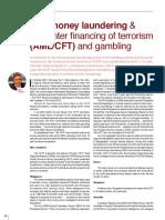 Antimoneylaundering-counterfinancingofterrorism Pedley Agl Spring2016
