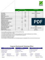 Glycerine Ecogreen Spec