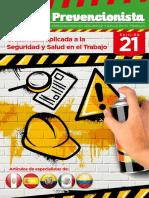 Revista El Prevencionista 21ava Edición