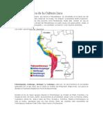 División Política de La Cultura Inca