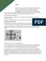 Principio Cálculo y Funcionamiento Generadores