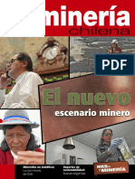 Revista Minería Chilena Edición Agosto 2013