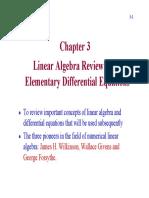 Chap3 Linear Algebra