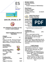 9-Lines Newsletter -- June 24 to July 1, 2010