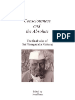 Nisargadatta Maharaj - eBook - Consciousness and the Absolute - PDF