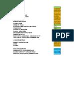 Formulir Pengampunan Pajak Excel Terintegrasi