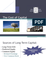 The Cost of Capital Lecture (Revised)