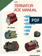 manual de servicio para alternadores