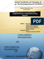 Concurrent Engineering Applications