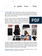 Achat Bonne Qualité Tissus – Pretty Mercerie