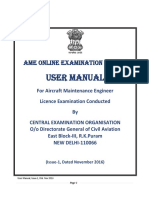 DGCA Manual for Candidate