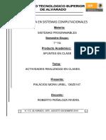 Apuntes. Uriel Palacios Mora