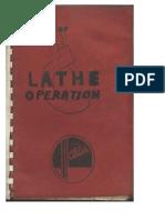 Manual of Lathe Operation