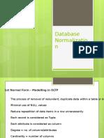 Database Normalization1546
