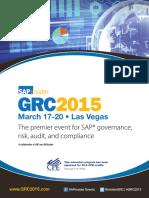 GRC 2015 US Brochure