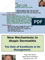 New Mechanisms in Atopic Dermatitis - The Role of Emollients in Its Management (Mksr) Fn